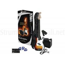 VGS Electric Bass Start kit Sunburst