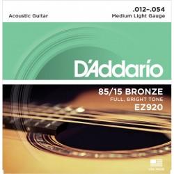 D'ADDARIO EZ920 American Bronze