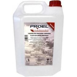 Liquido per macchina del Fumo Proel PLLFK055S da 5 litri